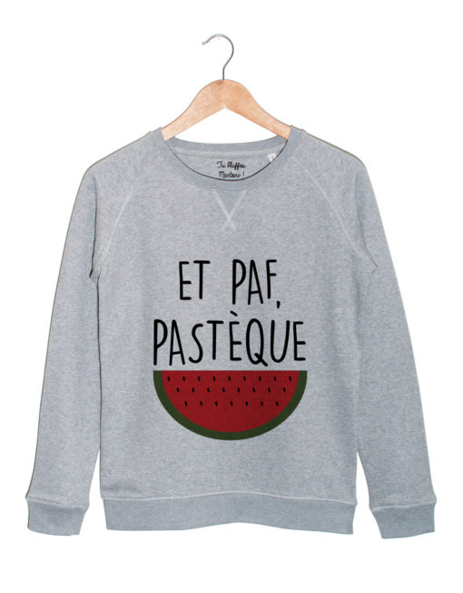 Sweat-Gris-paf-pasteque