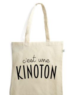 c'est une kinoton sac tote bag coton