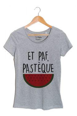 paf-pasteque-tshirt-femme-gris-tu bluffes martoni