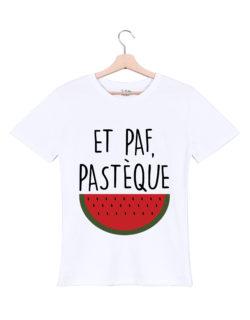 paf-pasteque-tshirt-homme-blanc tu bluffes martoni