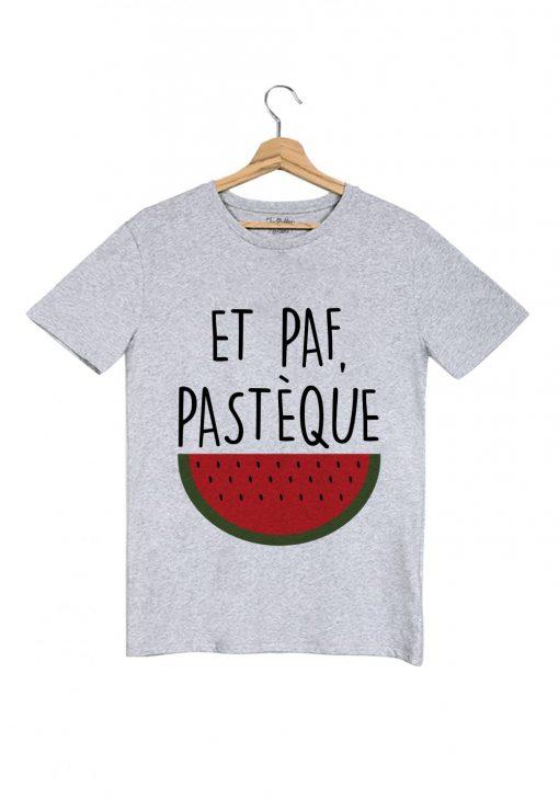 paf-pasteque-tshirt-homme-gris tu bluffes martoni