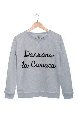 dansons la carioca sweat gris