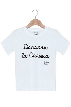 dansons la carioca tshirt enfant fille garcon tu bluffes martoni la cité de la peur