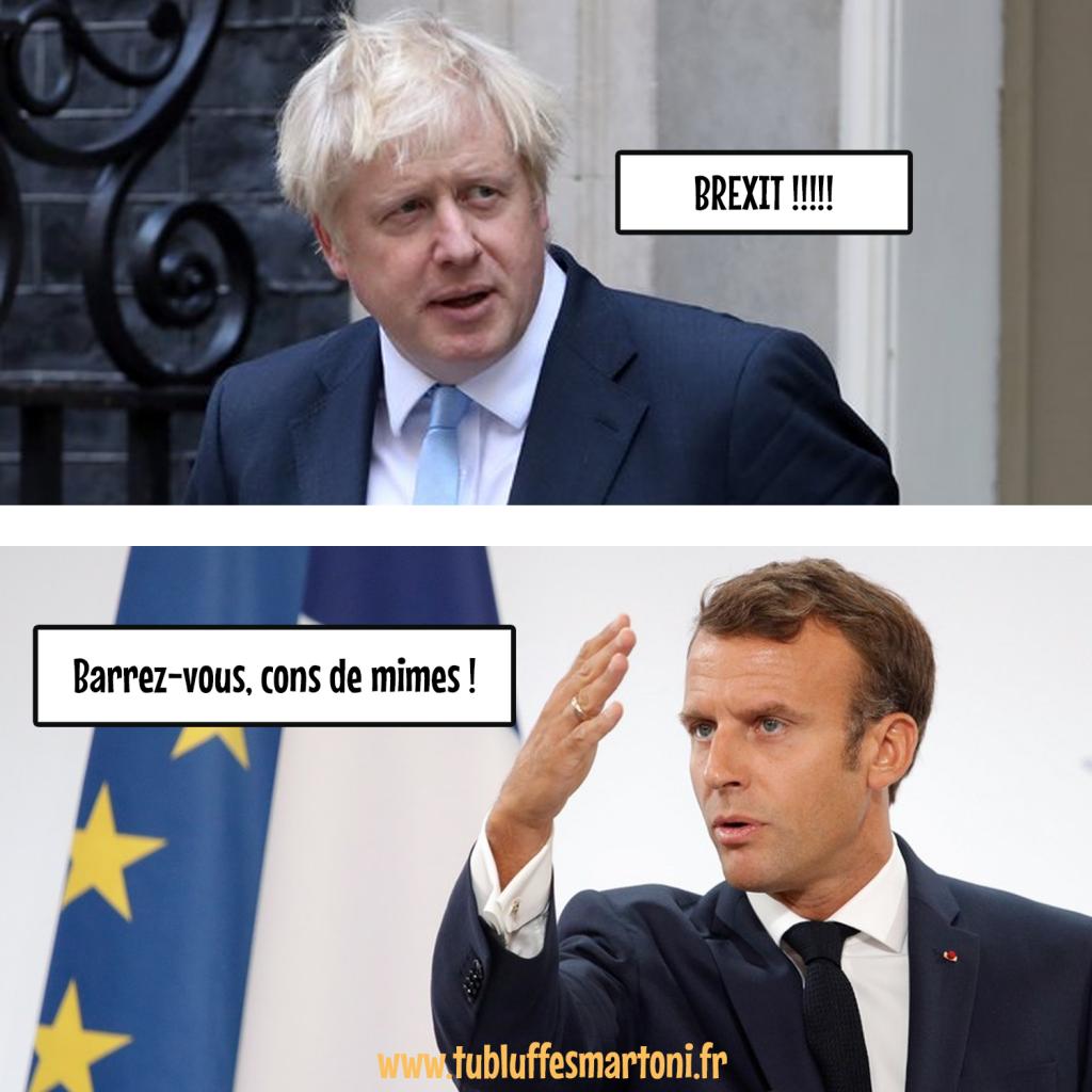 """Cannes Midi : Boris Johnson """"Barrez-vous, cons de mimes!"""""""