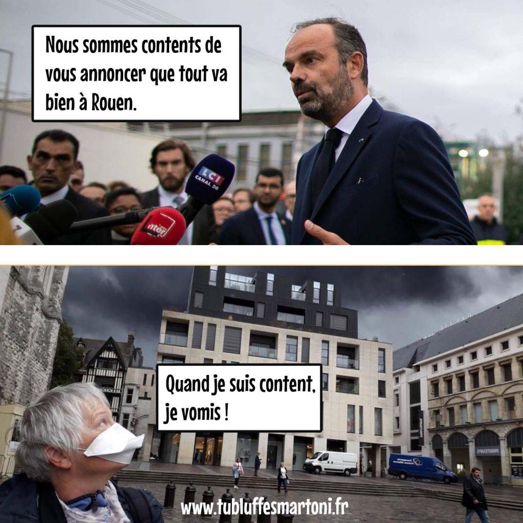 Cannes Midi : À Rouen quand je suis content je vomis !